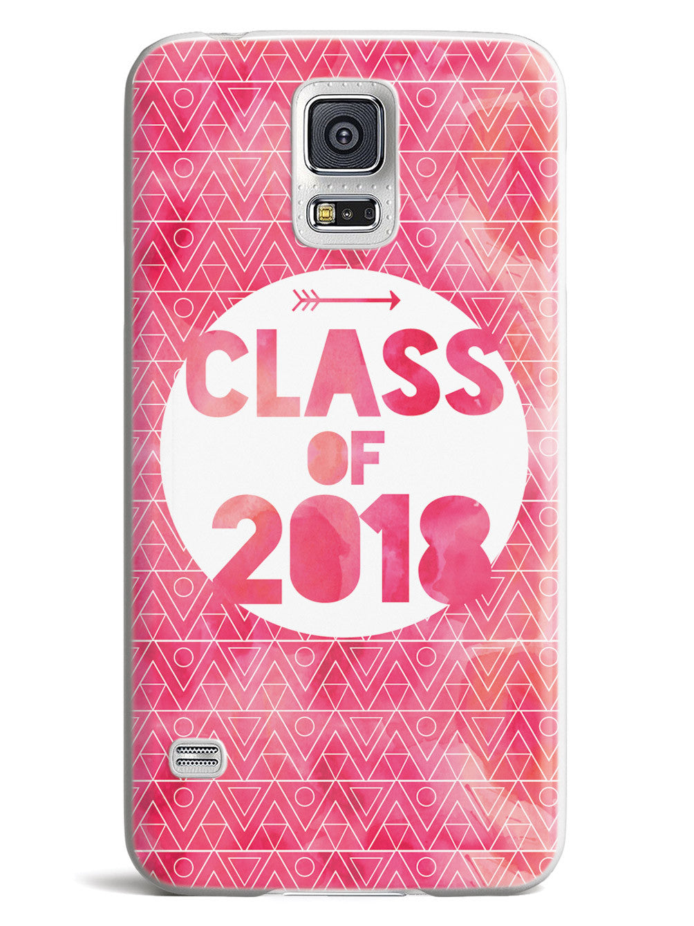 Class of 2018 - Pink Watercolor Case