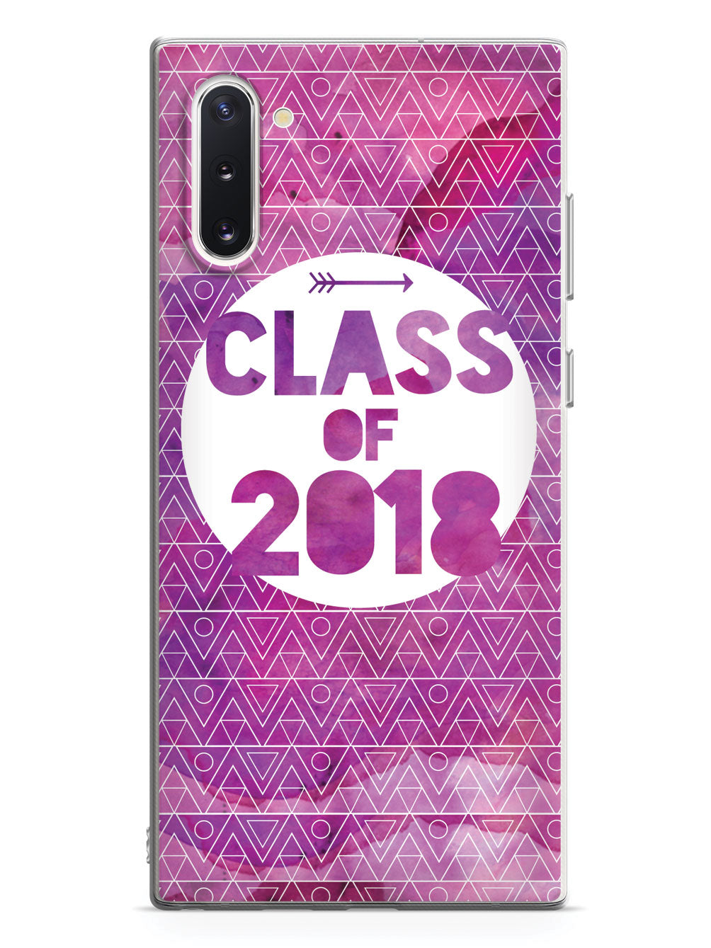 Class of 2018 - Purple Watercolor Case