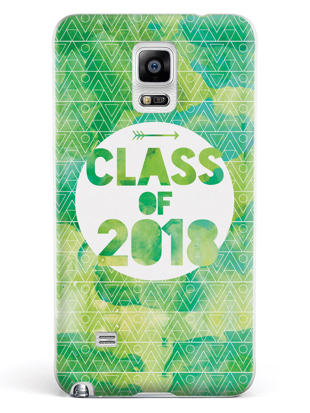 Class of 2018 - Green Watercolor Case