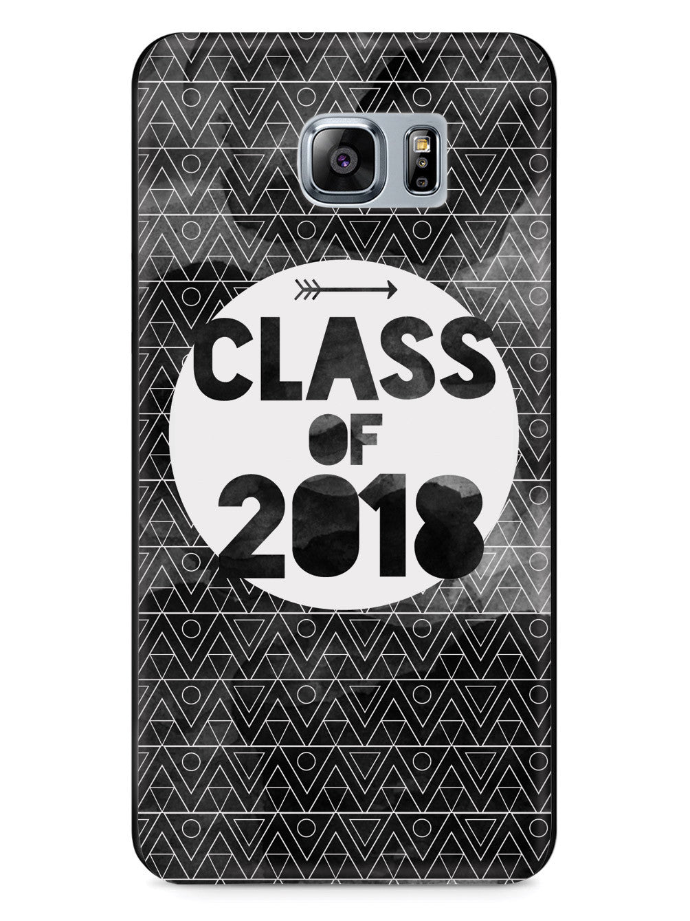 Class of 2018 - Black Watercolor Case