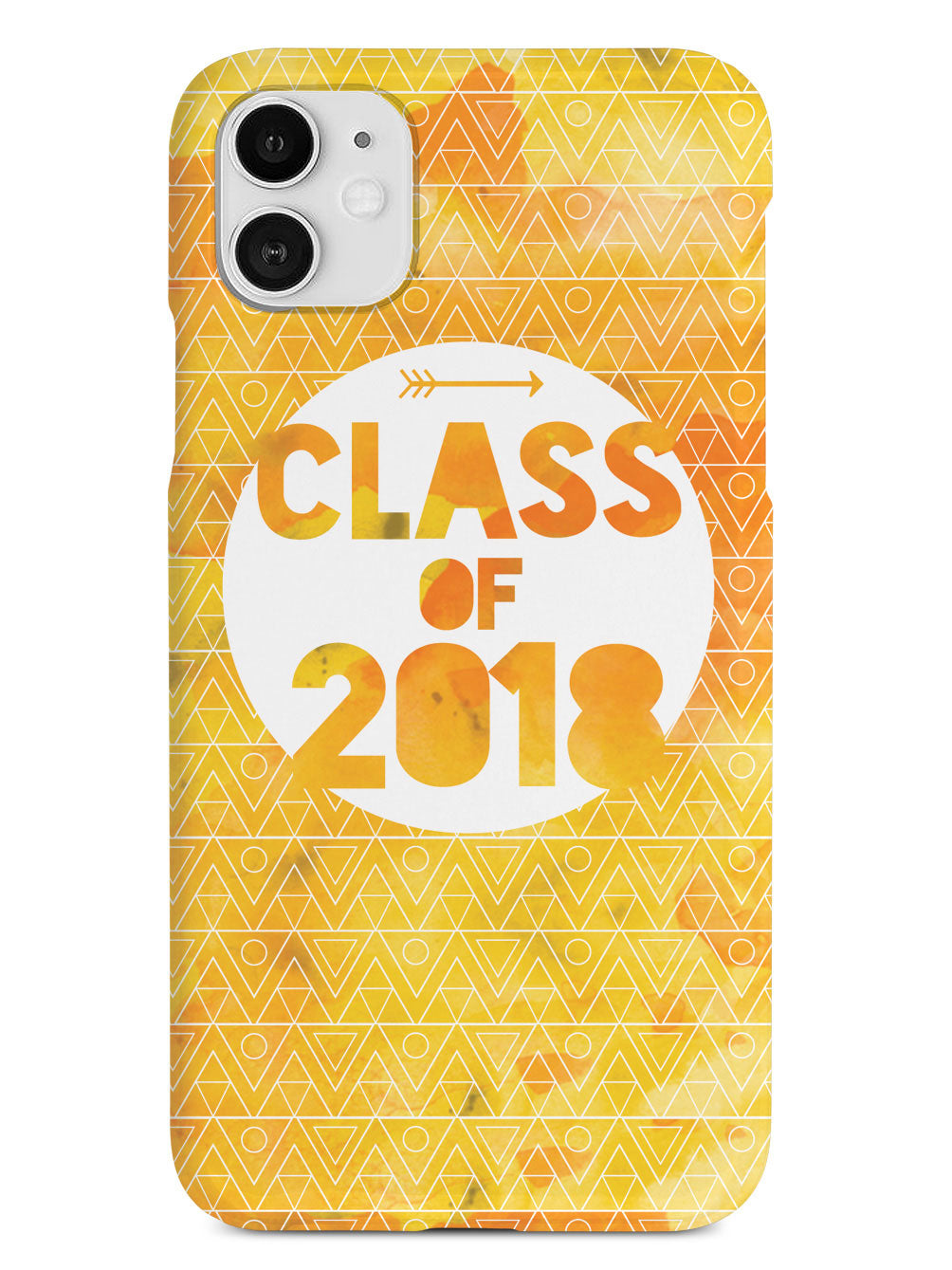 Class of 2018 - Yellow Watercolor Case