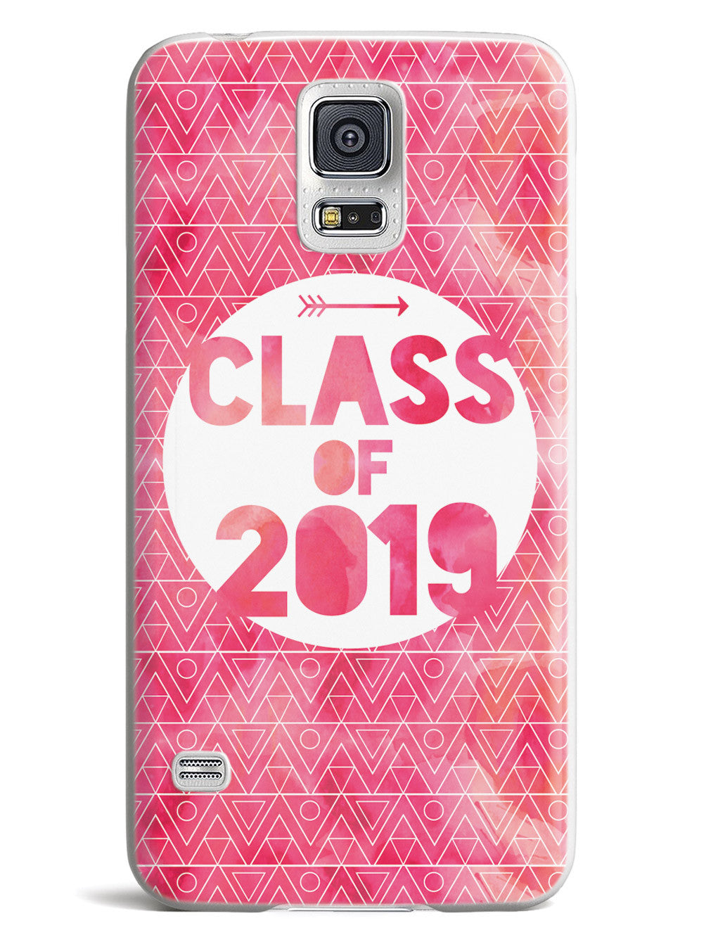 Class of 2019 - Pink Watercolor Case