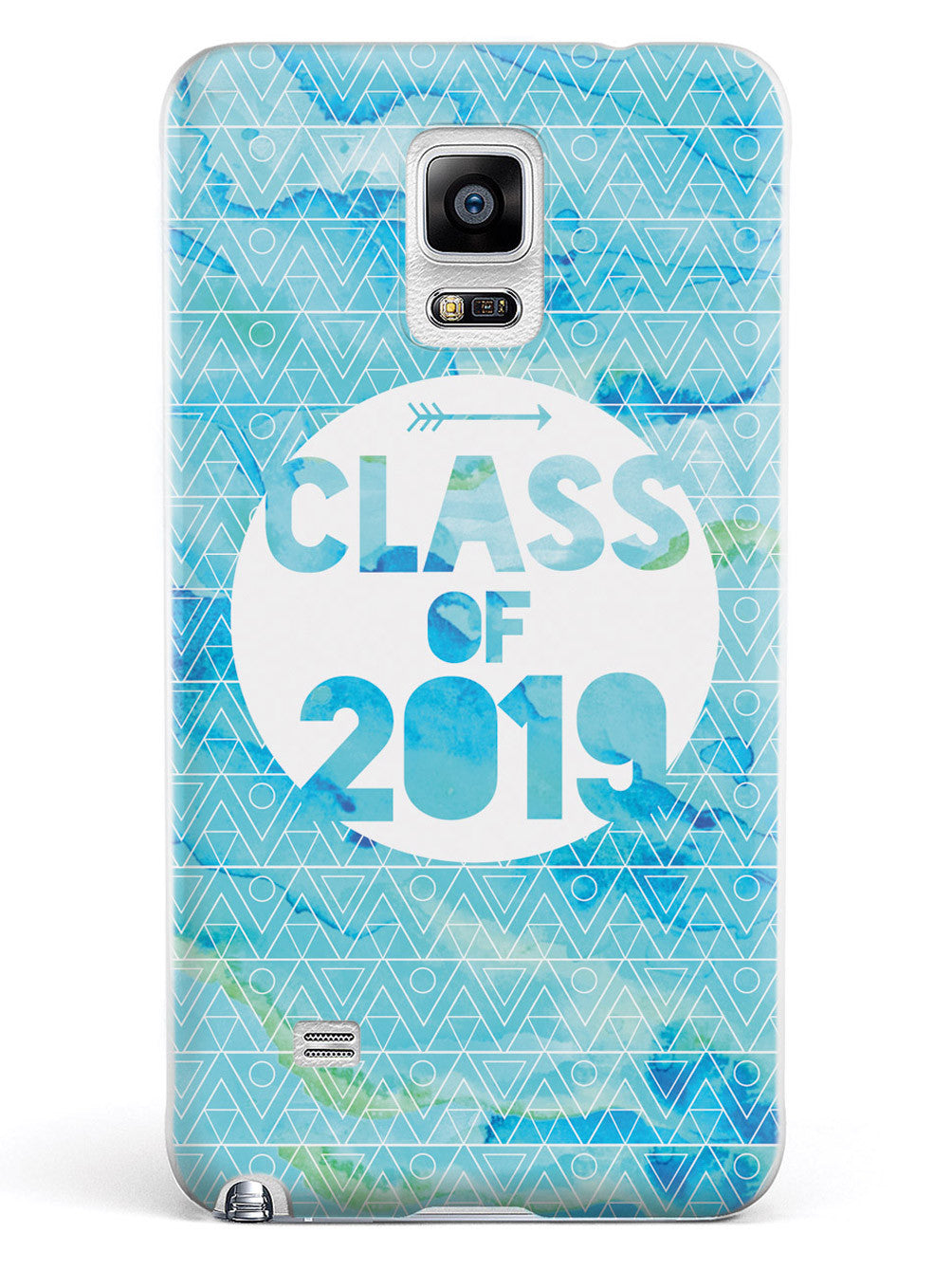 Class of 2019 - Blue Watercolor Case