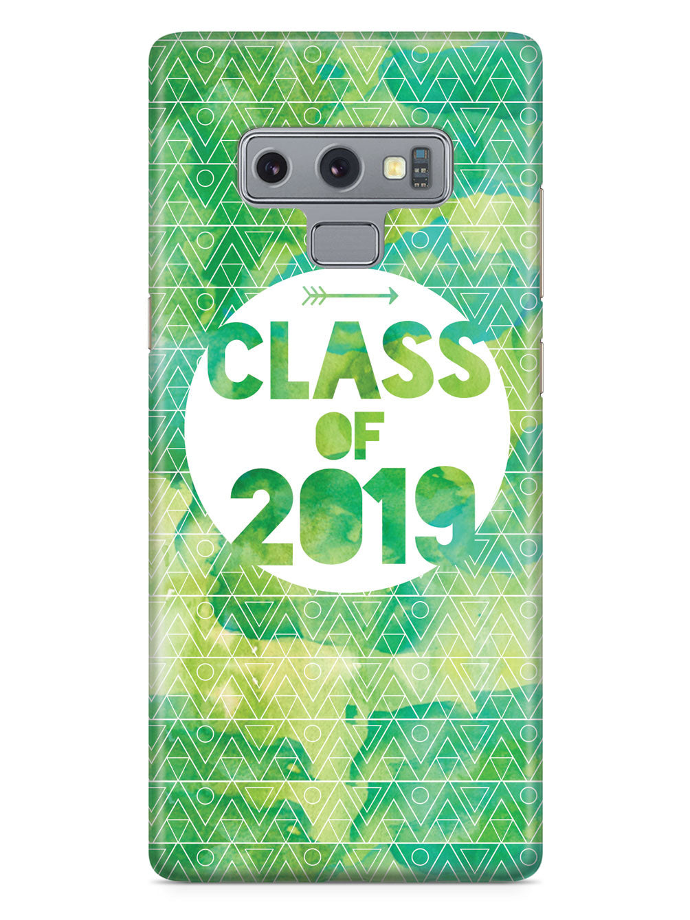 Class of 2019 - Green Watercolor Case