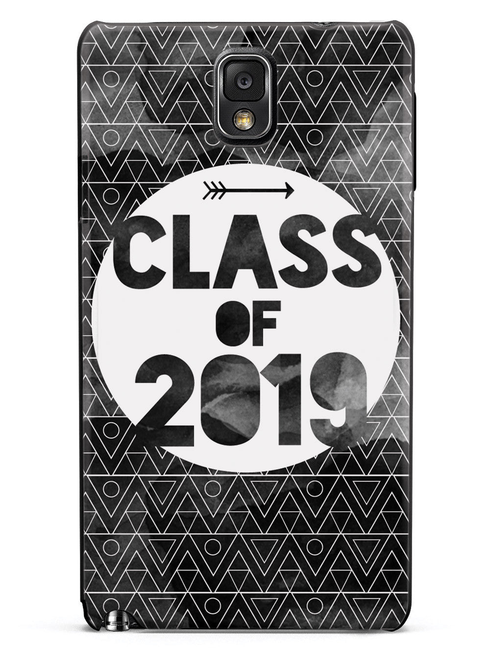 Class of 2019 - Black Watercolor Case