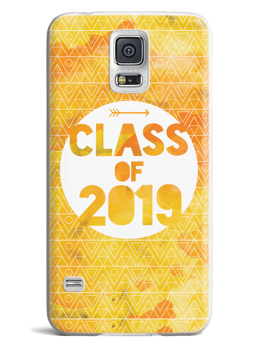 Class of 2019 - Yellow Watercolor Case