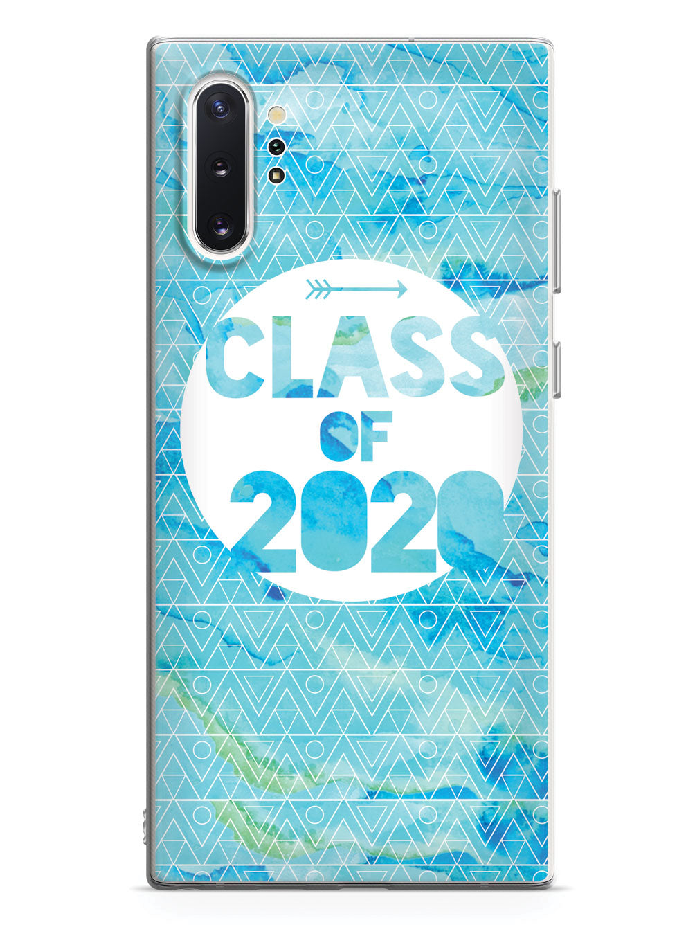 Class of 2020 - Blue Watercolor Case