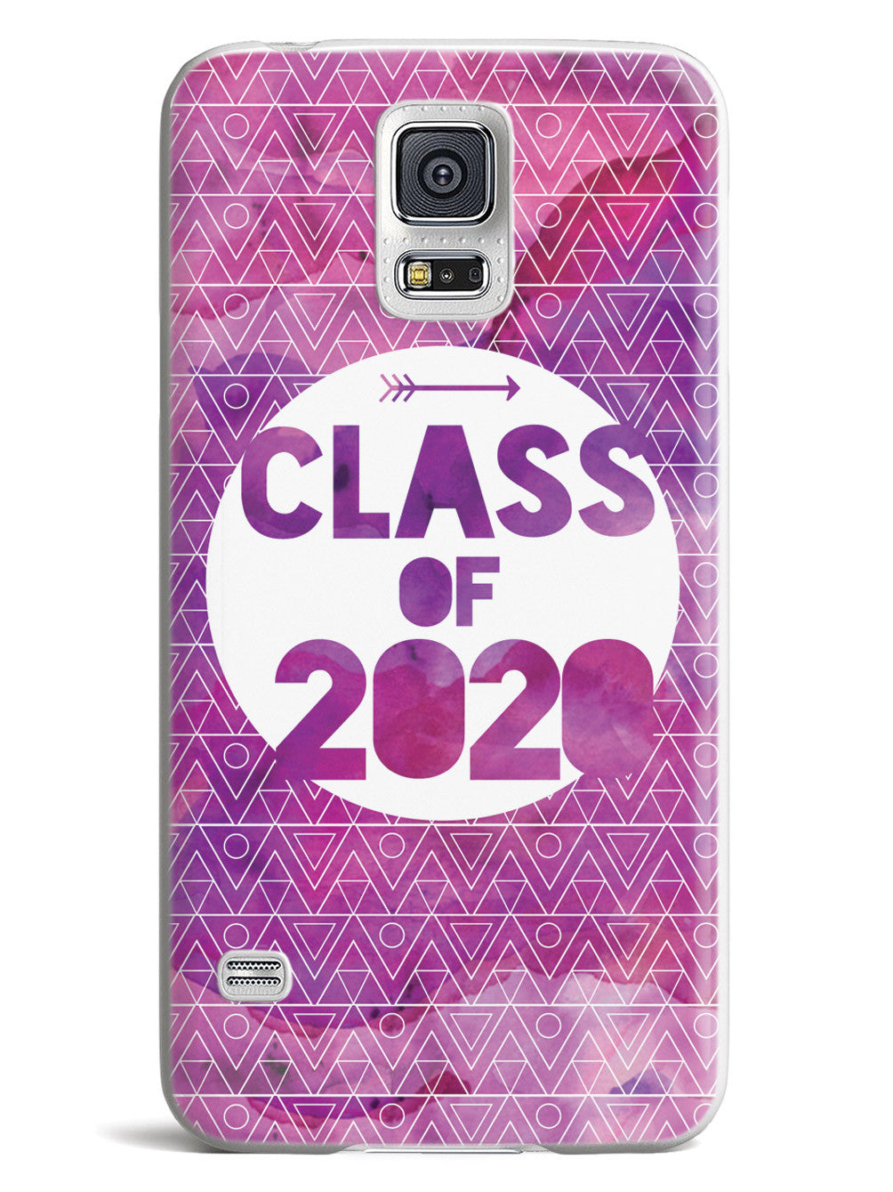 Class of 2020 - Purple Watercolor Case