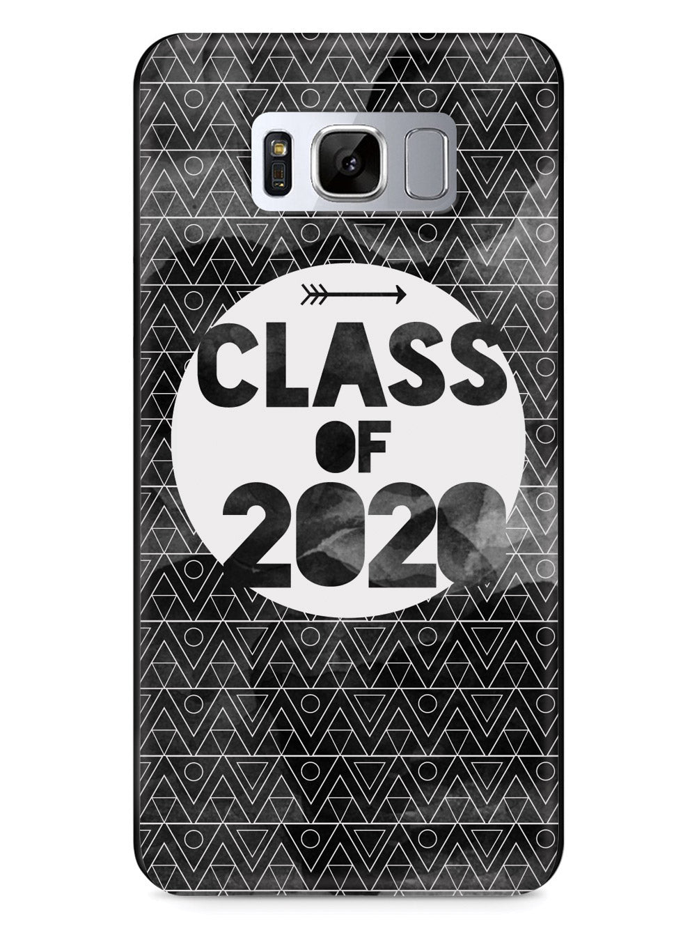 Class of 2020 - Black Watercolor Case