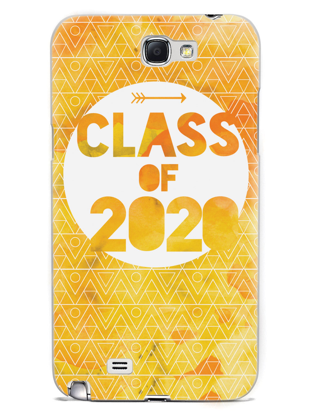 Class of 2020 - Yellow Watercolor Case