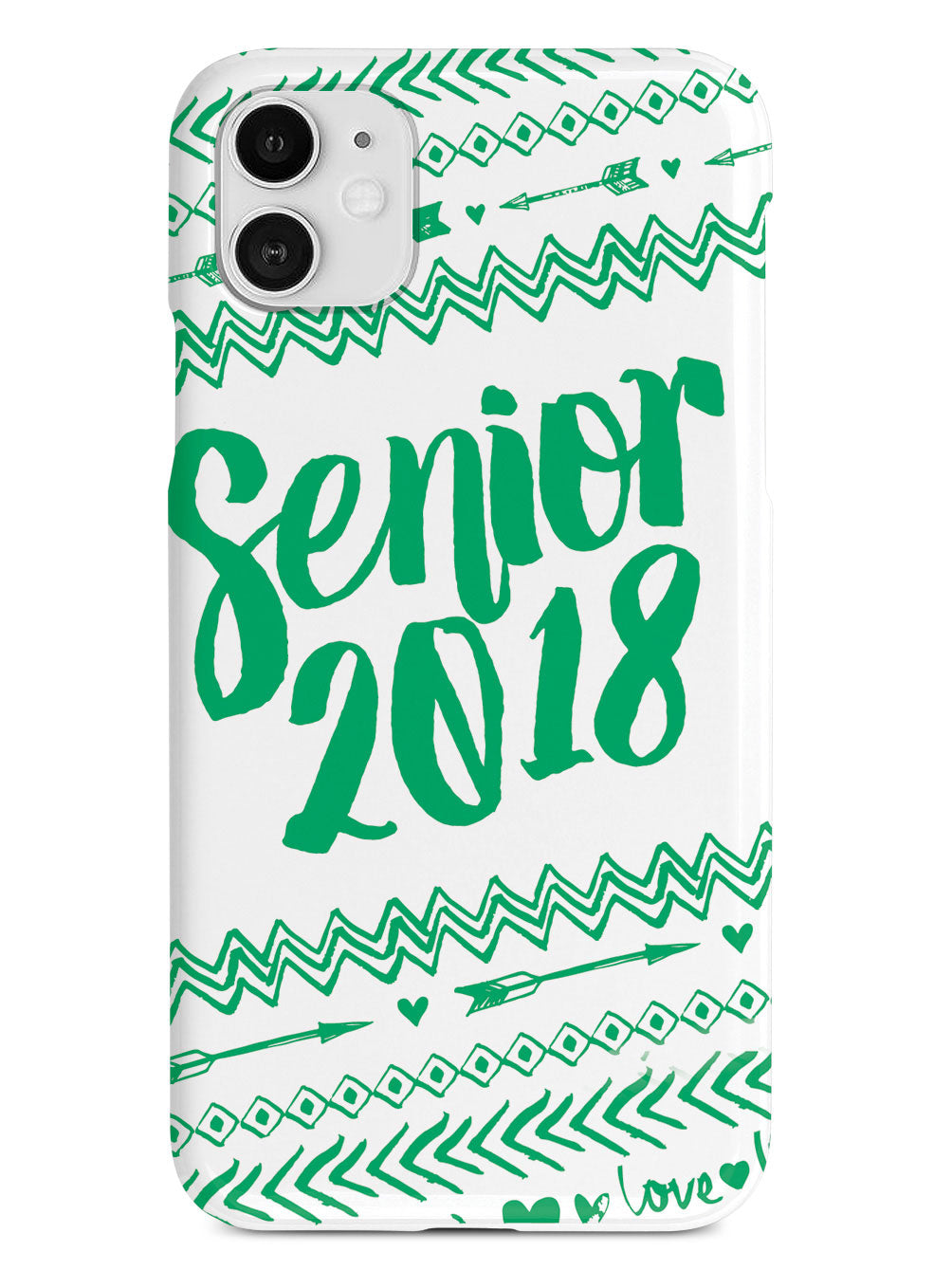 Senior 2018 - Green Case
