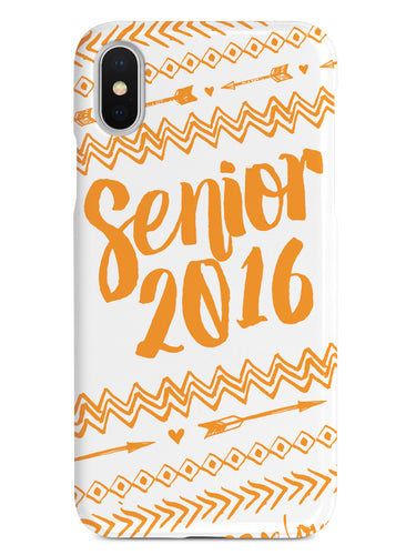 Senior 2016 - Orange Case