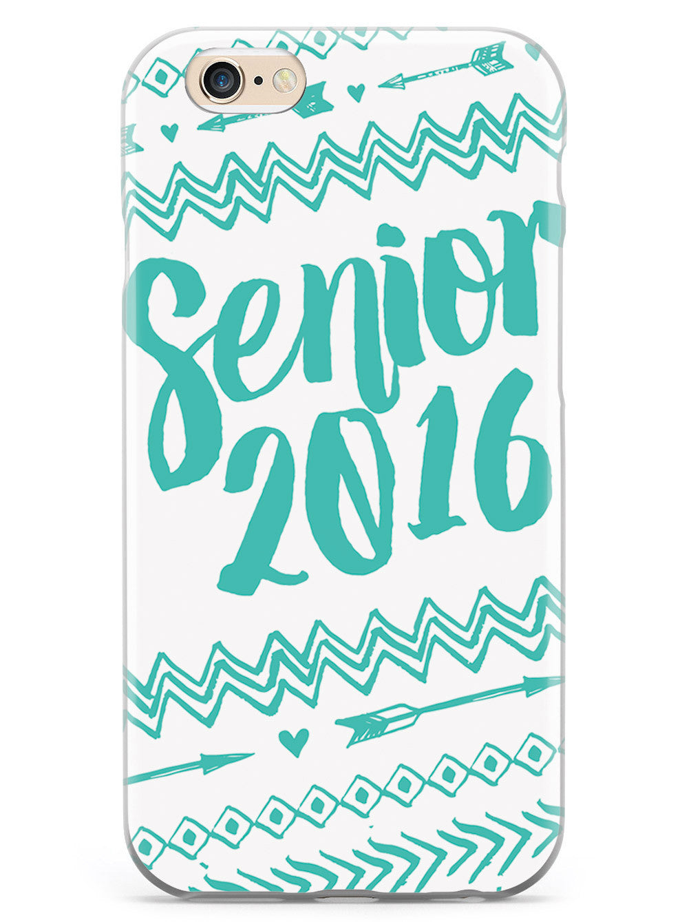 Senior 2016 - Teal Case