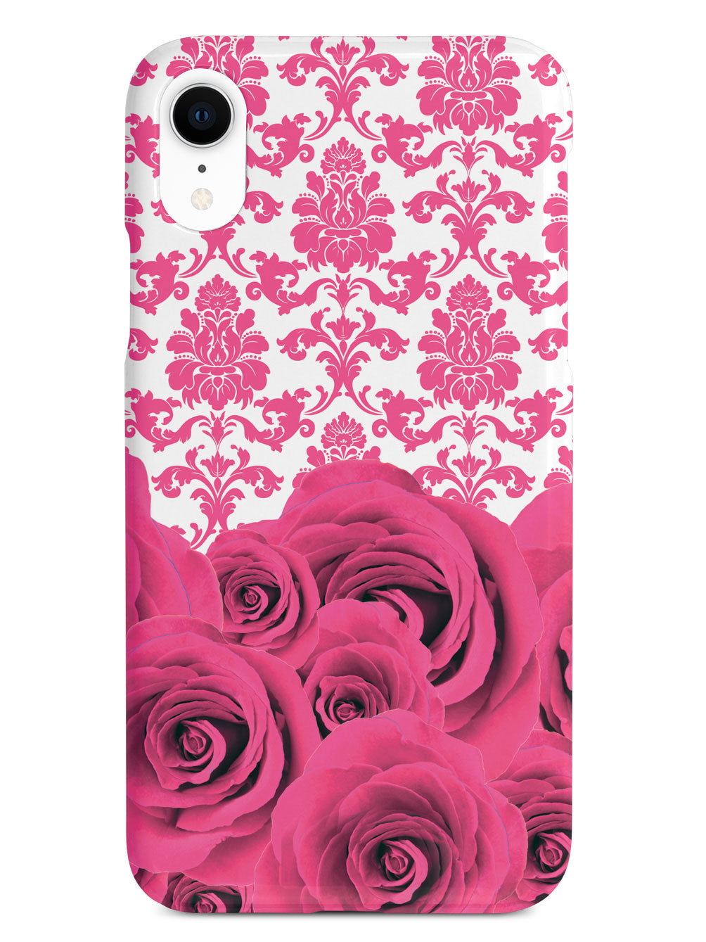 Damask and Roses - Pink Case