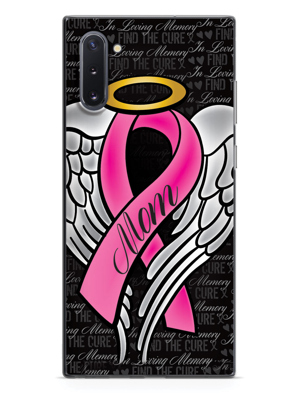 In Loving Memory of My Mom - Pink Ribbon Case