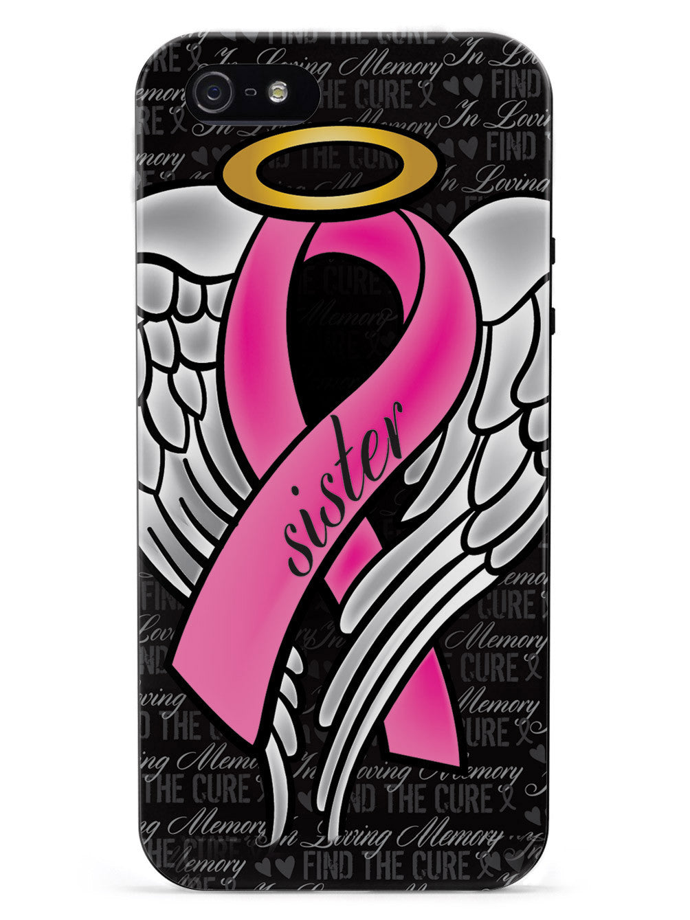 In Loving Memory of My Sister - Pink Ribbon Case