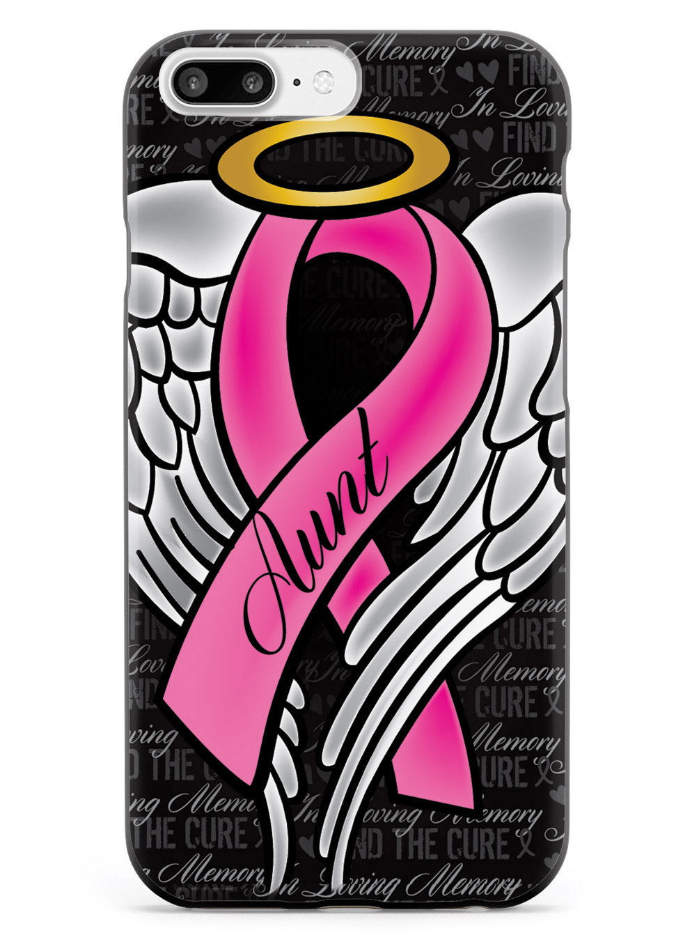 In Loving Memory of My Aunt - Pink Ribbon Case