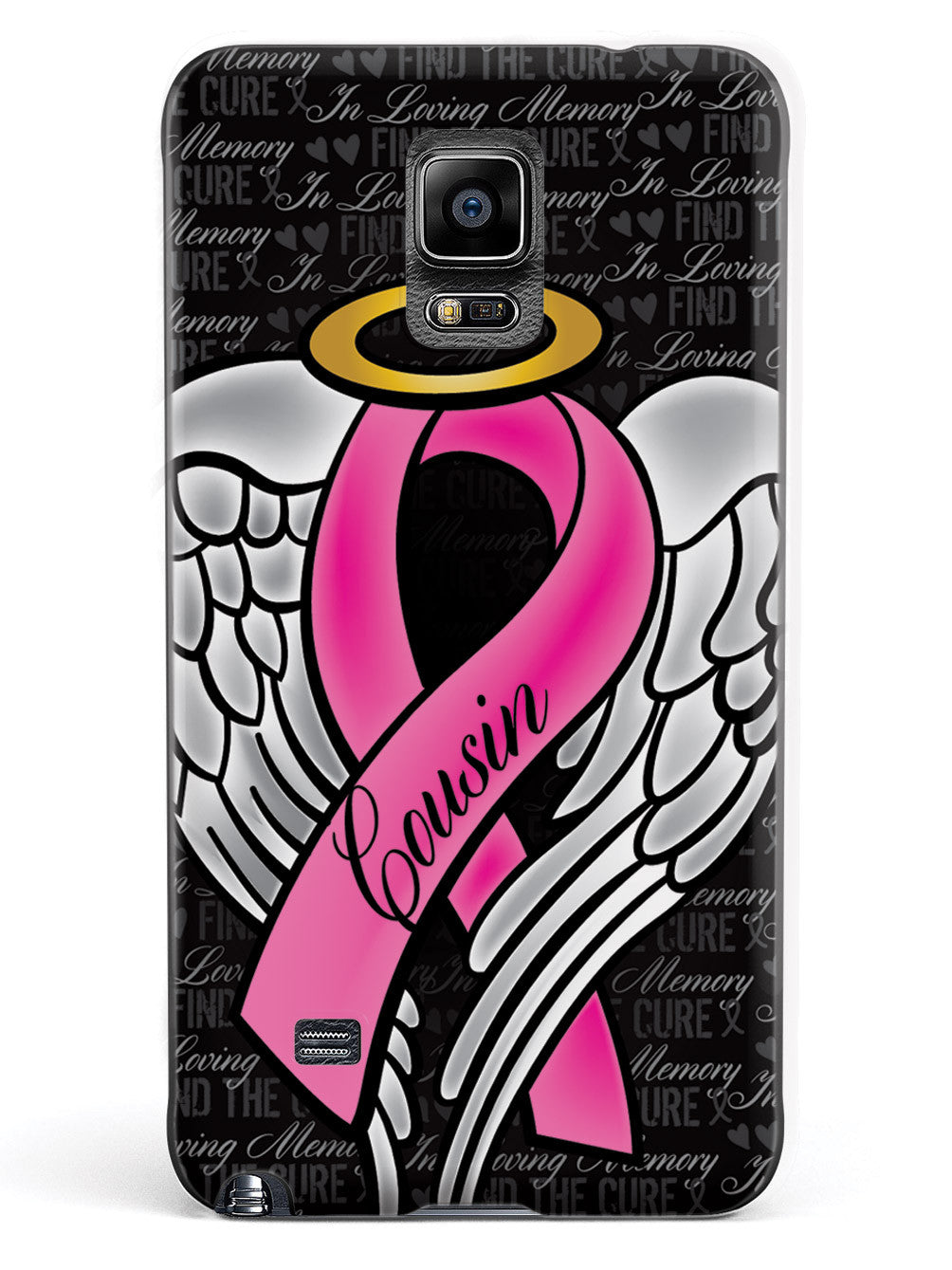 In Loving Memory of My Cousin - Pink Ribbon Case
