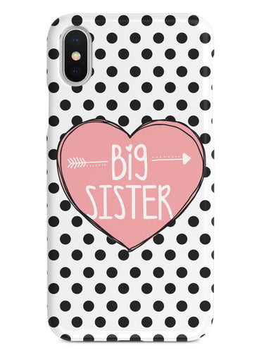 Sisterly Love - Big Sister - Polka Dots Case