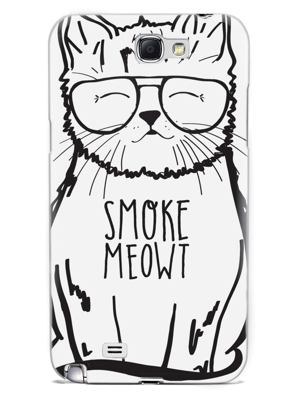 Smoke Meowt - Stoner Cat Case