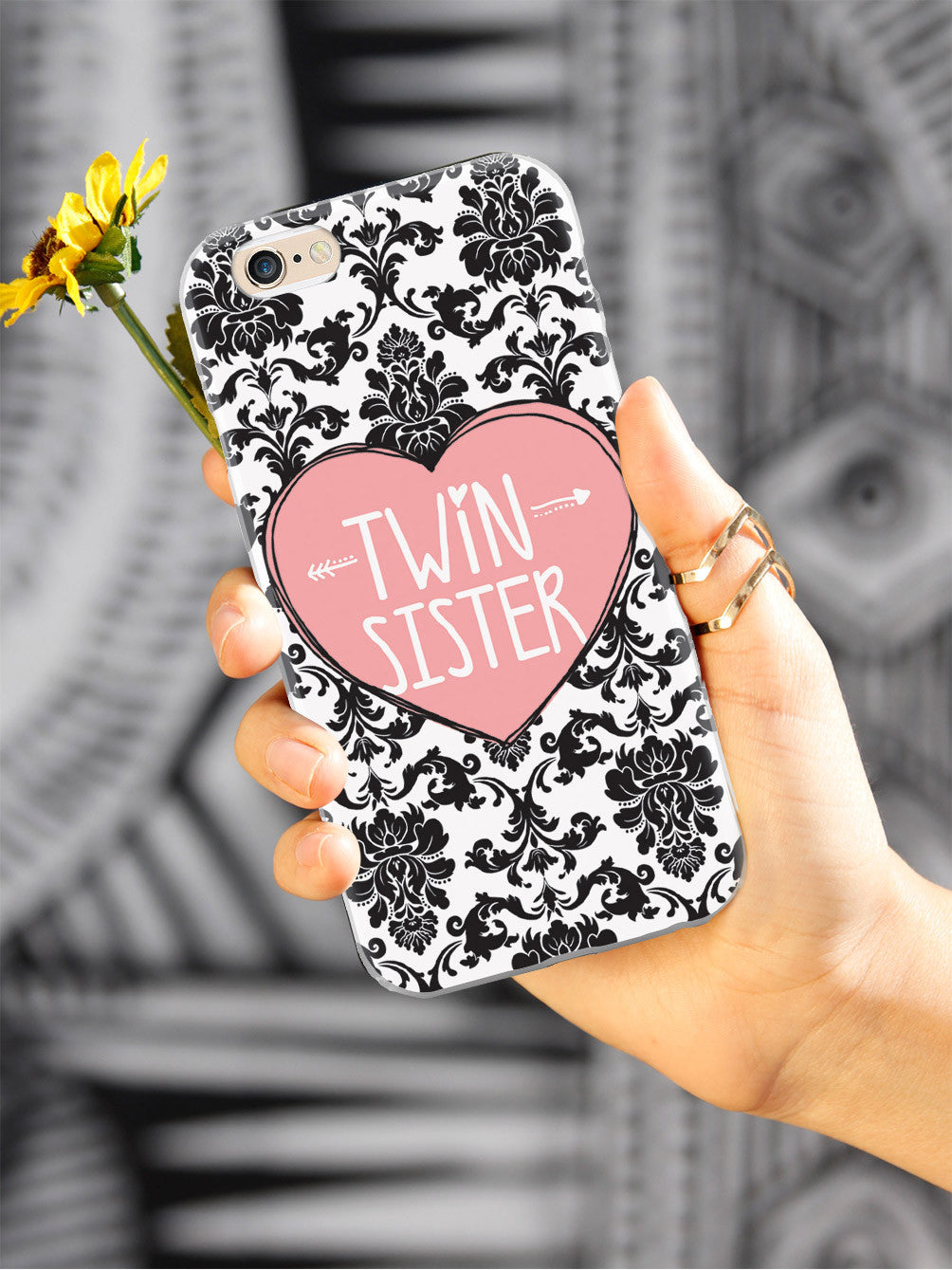 Sisterly Love - Twin Sister - Damask Case