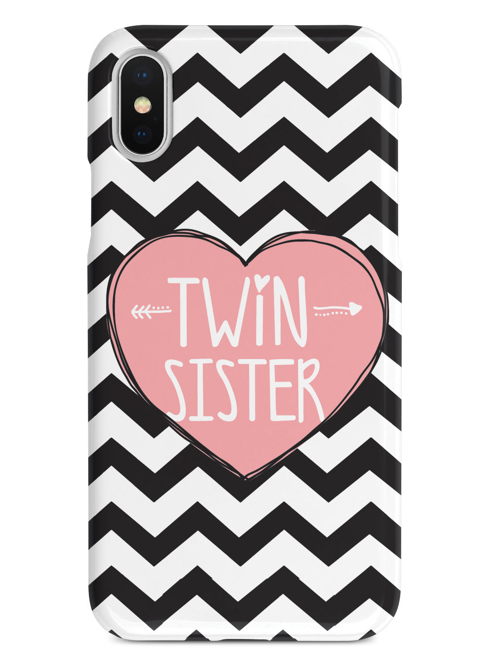 Sisterly Love - Twin Sister - Chevron Case
