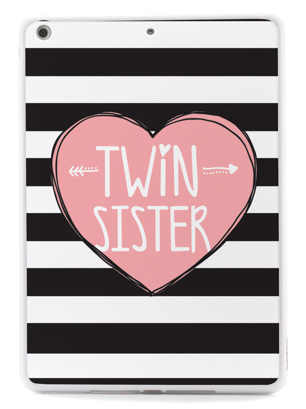 Sisterly Love - Twin Sister - Stripes Case