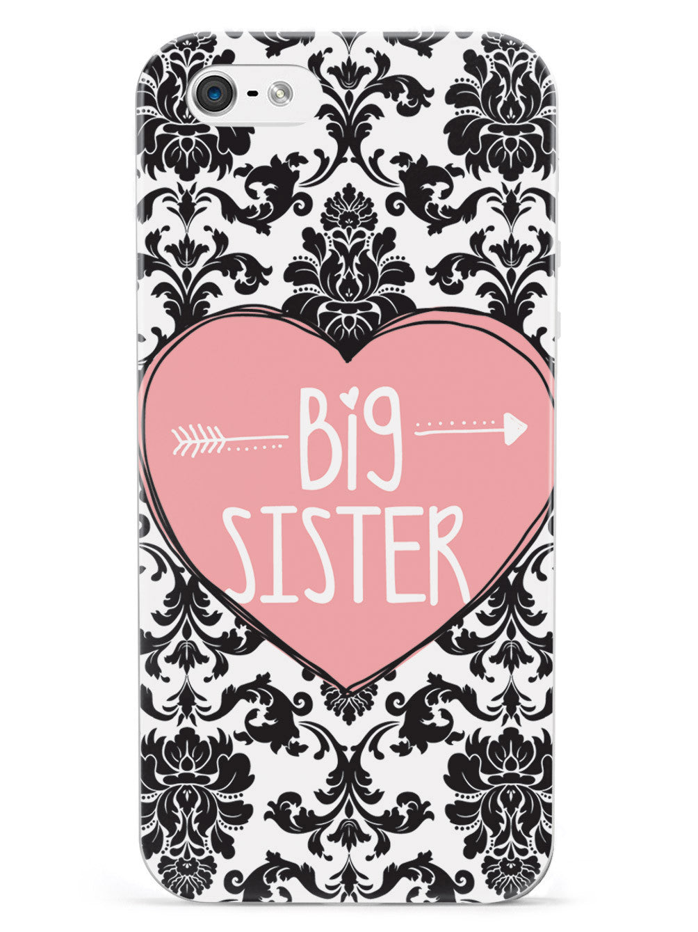 Sisterly Love - Big Sister - Damask Case