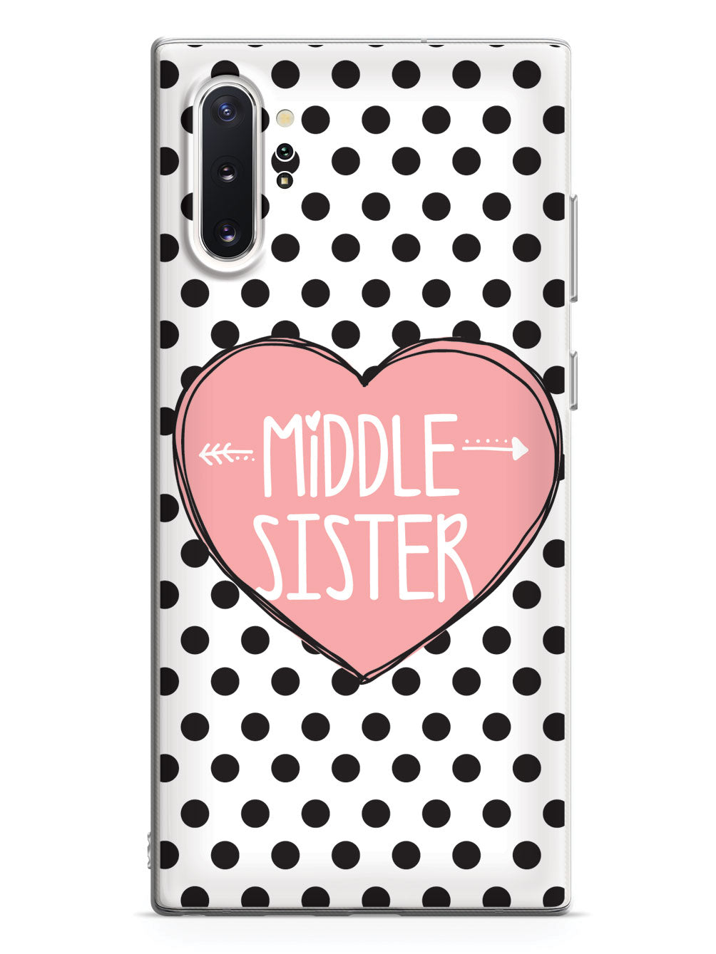 Sisterly Love - Middle Sister - Polka Dots Case