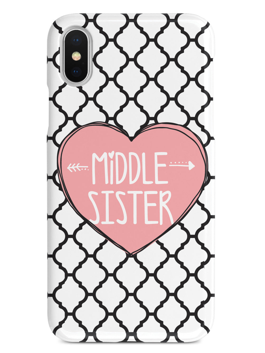 Sisterly Love - Middle Sister - Moroccan Case