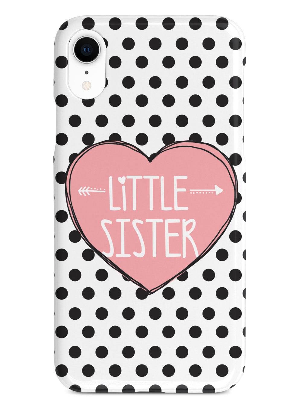 Sisterly Love - Little Sister - Polka Dots Case