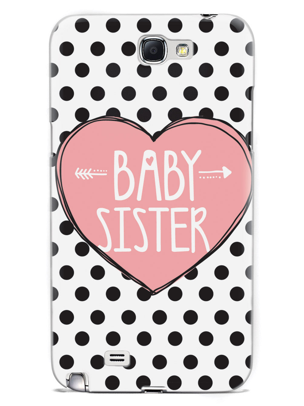 Sisterly Love - Baby Sister - Polka Dots Case