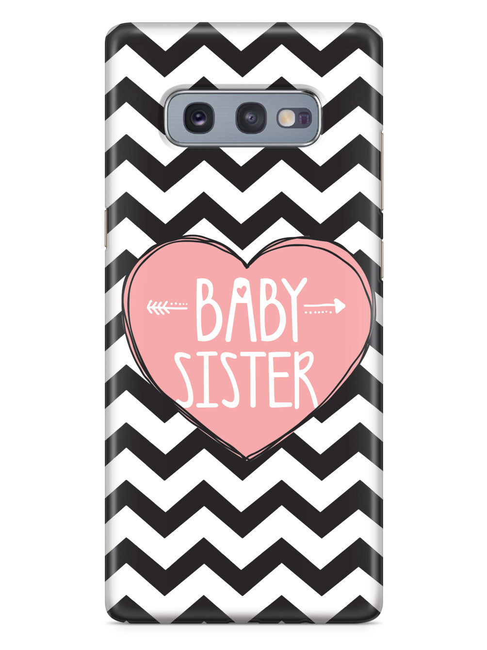 Sisterly Love - Baby Sister - Chevron Case