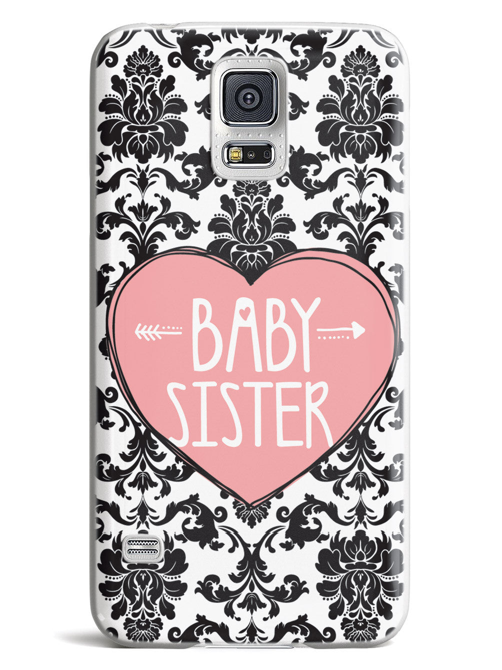 Sisterly Love - Baby Sister - Damask Case