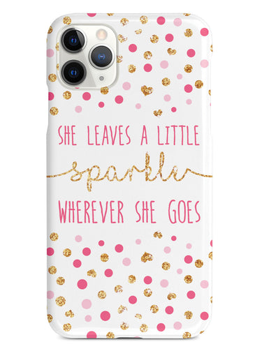She Leaves A little Sparkle Case