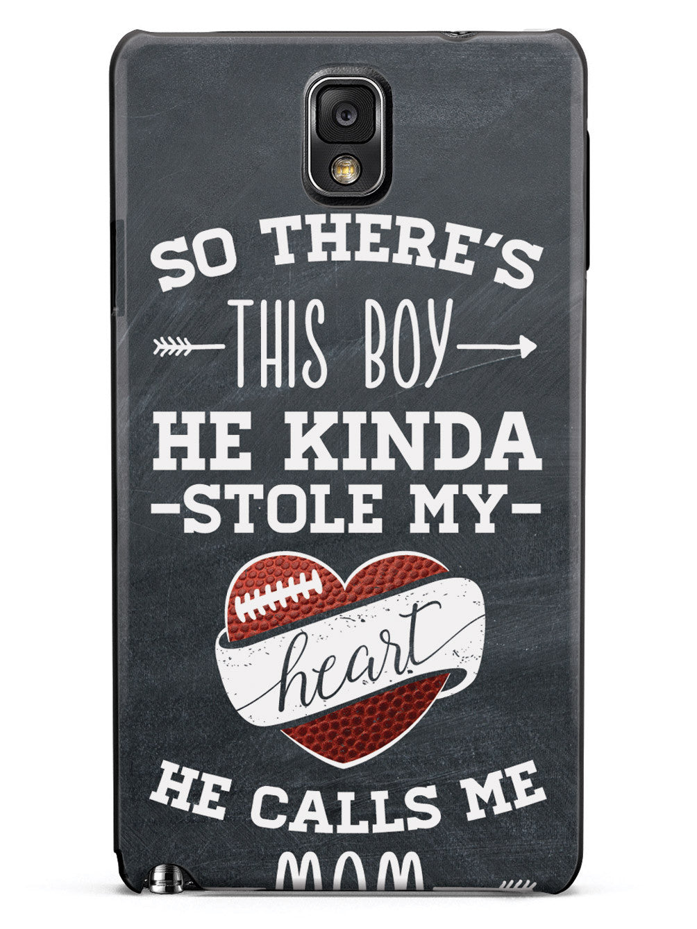 So There's This Boy... Football Player Case