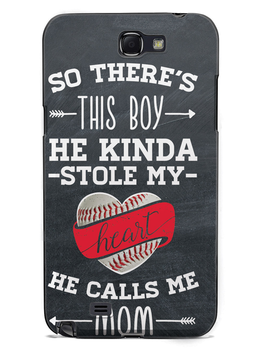 So There's This Boy... Baseball Player Case