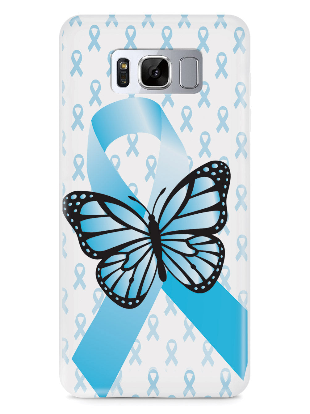 Addiction Recovery Awareness Ribbon Case