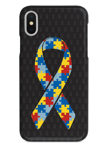 Autism Puzzle Piece Awareness Ribbon Case