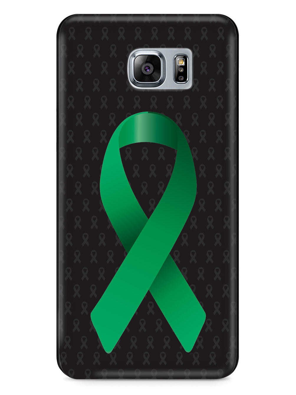 Green Awareness Ribbon - Black Case