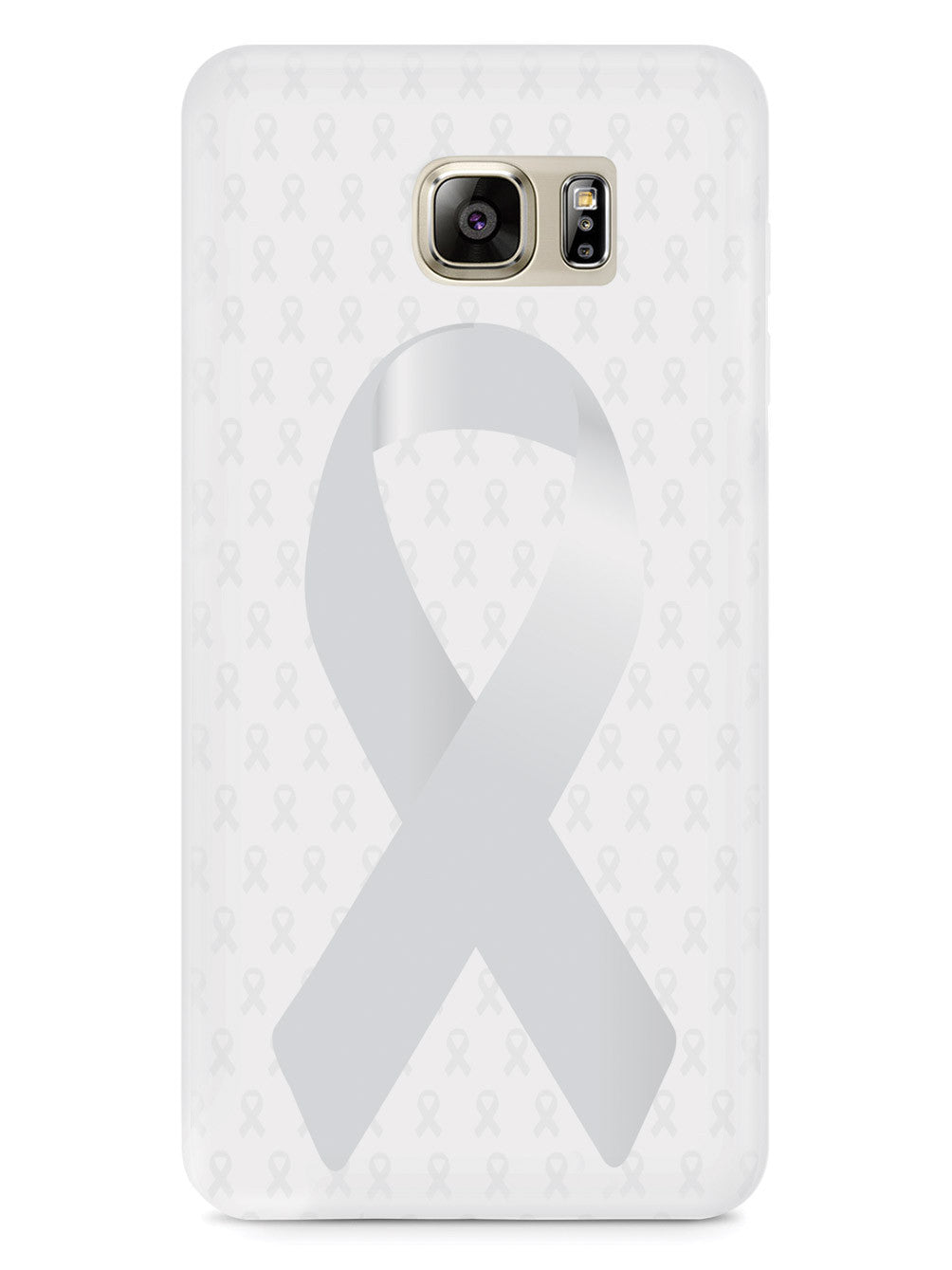 Pearl Awareness Ribbon - White Case