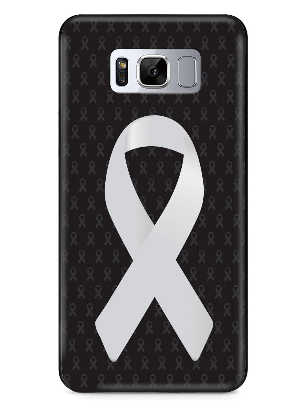Pearl Awareness Ribbon - Black Case
