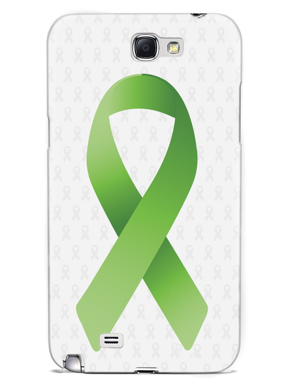 Non-Hodgkin's Lymphoma Awareness Ribbon - White Case