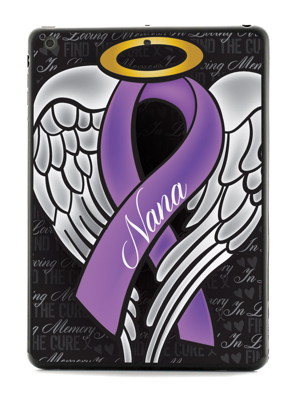 In Loving Memory of My Nana - Purple Ribbon Case