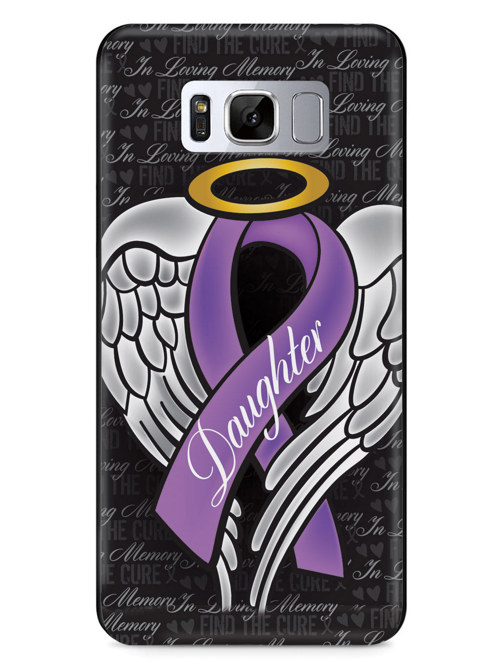 In Loving Memory of My Daughter - Purple Ribbon Case