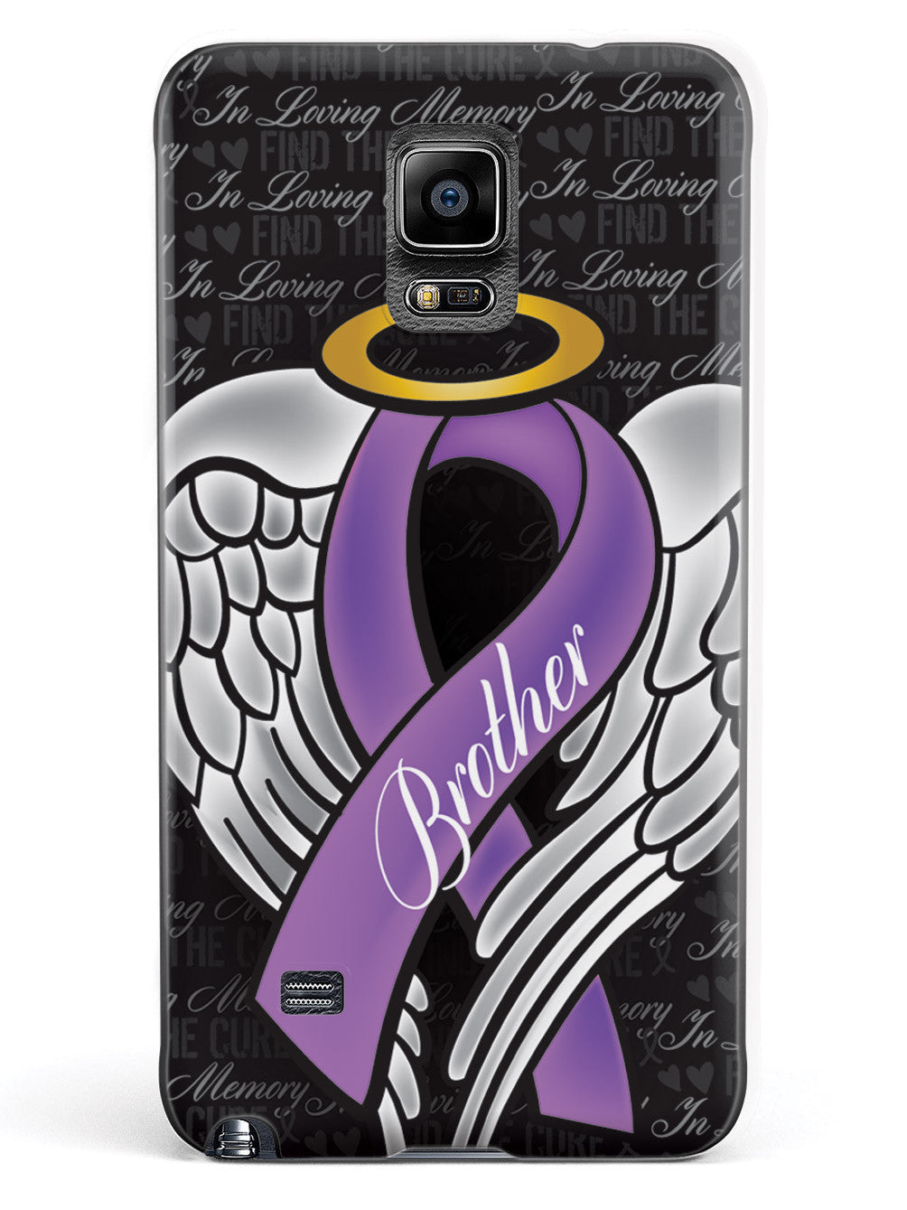 In Loving Memory of My Brother - Purple Ribbon Case