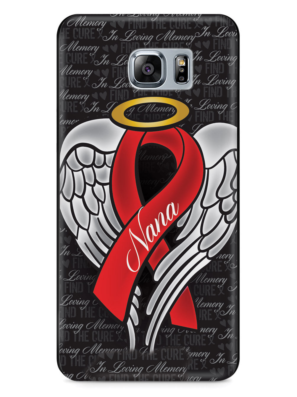 In Loving Memory of My Nana - Red Ribbon Case