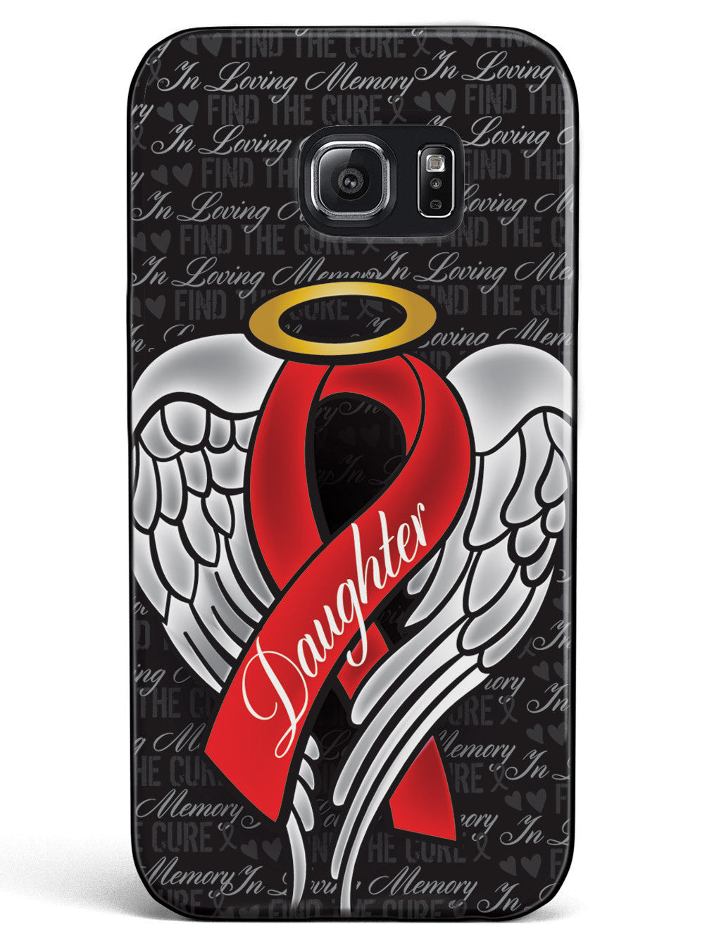 In Loving Memory of My Daughter - Red Ribbon Case
