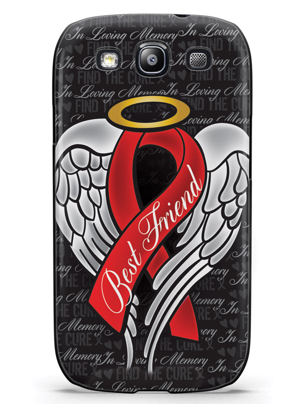 In Loving Memory of My Best Friend - Red Ribbon Case