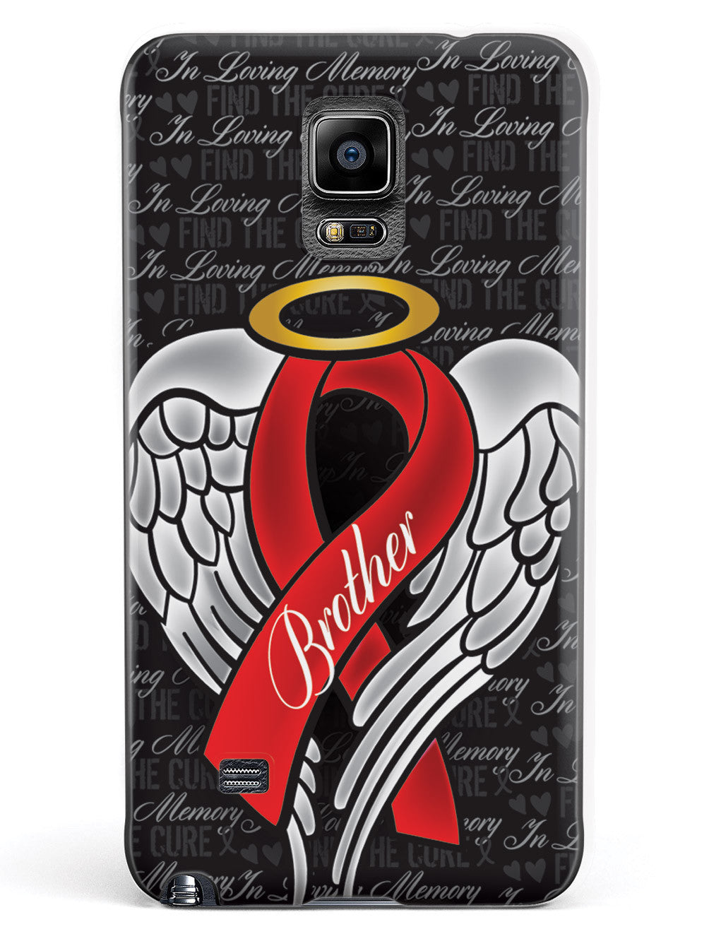In Loving Memory of My Brother - Red Ribbon Case